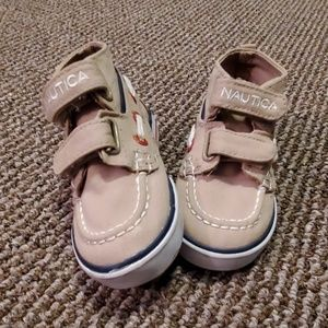 Toddler Nautica size 5 toddler shoes
